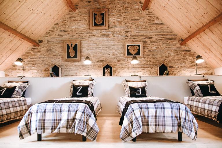 decoration interieure gite le logis de joseph et julien soeurettes and co