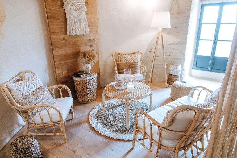 Decoration interieure gite le moulin de gabin par soeurettes and co